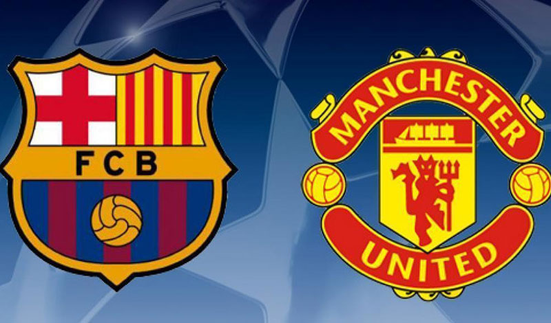 liga champion manchester united barcelona