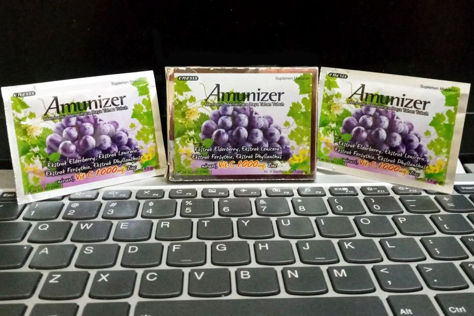 minuman suplemen herbal amunizer